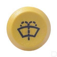 Drukschakelaar ruitensproeier 12V geel productfoto