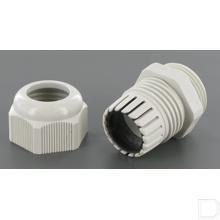 Kabelwartel kunststof M25x1,5mm² productfoto