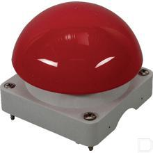 Bovenkast grijs knop rood productfoto