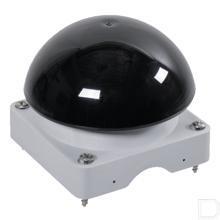 Bovenkast grijs knop zwart productfoto