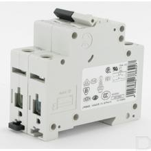 Installatieautomaat 6A 2-polig inclusief nul B-kar 15kA productfoto