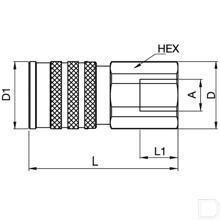 3/4 mof Tema FF ISO 16028 productfoto