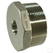"Verloop 2""x1.1/2"" nr.241 RVS productfoto"