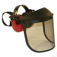 Gehoorbeschermer met gaasvizier  productfoto