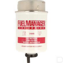 Filter element FM100 H=109mm 150µm productfoto
