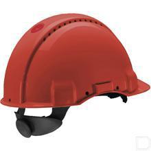 Veiligheidshelm G3000 rood  productfoto