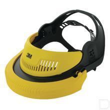 Hoofdband Industrie voor gezichtsbescherming G500 geel productfoto
