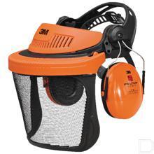 Gehoorbeschermer G500 met gaasvizier  productfoto