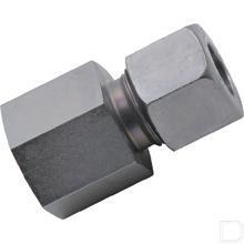 Rechte opschroefkoppeling 10S 3/8 BSP productfoto