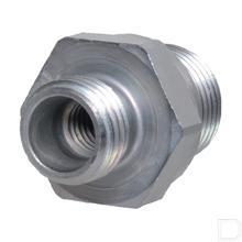 Rechte inschroefkoppeling body 8L 3/8 M8 binnend. BSP productfoto