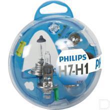Gloeilampenset 12V H1/H7 productfoto