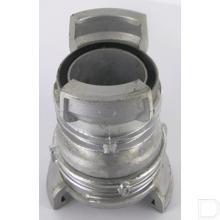 "Koppeling DN50x65mm 2x2.1/2"" Aluminium productfoto"