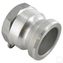 "Camlock snelkoppeling A 2"" binnendraad Aluminium productfoto"