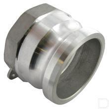 "Camlock snelkoppeling A 3"" binnendraad Aluminium productfoto"