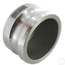 "Camlock eindkap 3"" vaderdeel Aluminium productfoto"