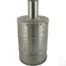 Filter 170x120x40mm RVS  productfoto