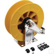 Wand slanghaspel geel productfoto