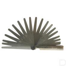 Voelermaat 0,05 - 1,0 mm, 20 bladen productfoto
