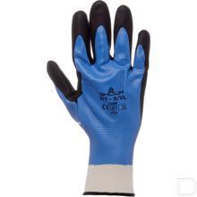 Werkhandschoen nitril 377 maat 7 / M zwart / blauw productfoto