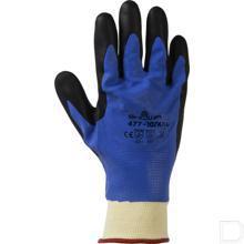 Handschoen geïsoleerd 477 maat 11 / XXL blauw productfoto