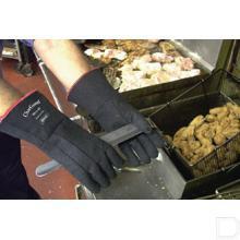 Handschoen voedselindustrie Charguard maat 10 / XL zwart productfoto