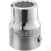 "Dopsleutel 3/4"" 4-kant met dop 19mm 12-kant  productfoto"