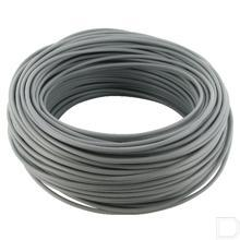 1-aderige kabel 1x1,5mm² grijs 50m productfoto