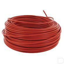 1-aderige kabel 1x2,5mm² rood 50m productfoto