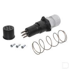 Connector elektrisch 7-polig vrouwelijk productfoto
