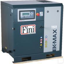 """Schroefcompressor 400V 1050L/min 1/2"""" 3 ingaande fases 800x650x860mm productfoto"""