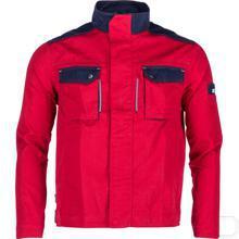 Werkjack rood/marineblauw maat XS productfoto