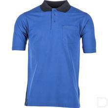 Poloshirt koningsblauw maat 2XS productfoto