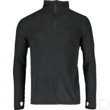 Microfleece pullover Zwart M productfoto