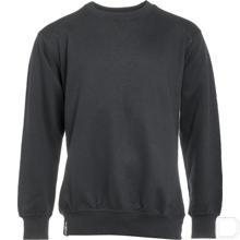 Sweater ronde hals zwart 3XL productfoto