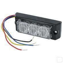 Flitslicht 3-weg LED opbouw 12/24V  productfoto
