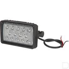 LED werklamp 21W 2600lm, breedstraler links productfoto