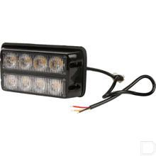 Flitslamp oranje 4 LED productfoto
