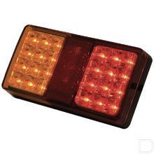Achterlicht LED rechthoek opbouw 12/24V productfoto
