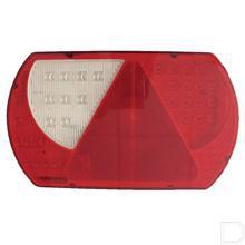 Achterlicht LED links rechthoek horizontale opbouw 12/24V productfoto