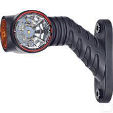 Contourlicht LED voor/zij/achter rechts arm 45? kort kabellengte 0,5 meter 12/24V 0,7/1,4W productfoto