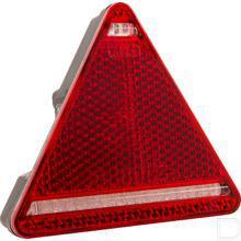 Achterlicht driehoek productfoto