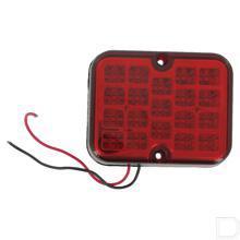 Mistachterlicht LED vierkant 12V productfoto