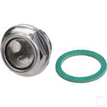 """Olieniveau oog LCP 1/2""""BSP Aluminium productfoto"""