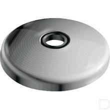 Voetplaat RVS productfoto