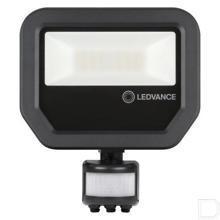 LED schijnwerper + sensor 20W 3000K IP65 productfoto