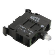 Element LED groen bodemmontage, 12-30VAC/DC productfoto