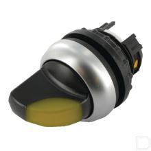 Signaalkeuzeschakelaar 2 standen geel, terugverend productfoto