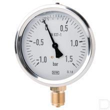 Manometer Ø100mm Glycerol productfoto
