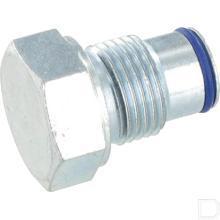 Plug gesloten middenstuk MBV5 productfoto