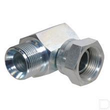 Haakse inschroefkoppeling buiten/binnen 5/8 BSP productfoto